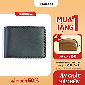 Ví Nam Bóp Nam Ngang Da Bò Thật Handmade Galaxy Store GVNNX - Hàng Chính Hãng