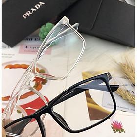 [TẶNG HỘP+KHĂN] Mắt kính gọng dẻo, mắt kính thời trang, mắt kính học sinh