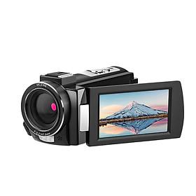 Andoer HDR-AE8 4K WiFi Digital Video Camera Camcorder DV Recorder 30MP 16X Digital Zoom IR Night Vision 3 Inch IPS LCD Black