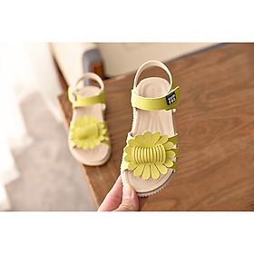 Giày sandal cho bé gái đính bông ES001