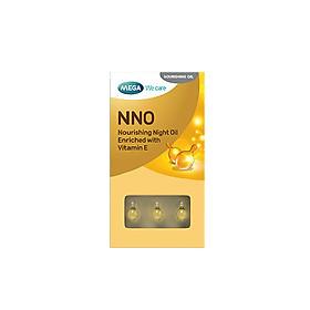 NNO BLISTER - Viên dưỡng ẩm NNO dạng vỉ giúp khóa ẩm cho da, dưỡng ẩm sâu, giảm khô sạm, giúp da mềm mịn và cải thiên nếp nhăn mảnh. (Chăm sóc da mặt)/Hộp 3 vỉ x 10 viên
