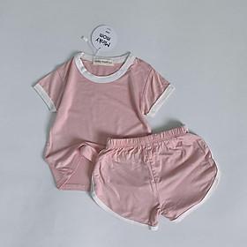 Bộ Thun lạnh cao cấp của Minky Mom túi Zip cho bé trai và gái từ 5-16kg