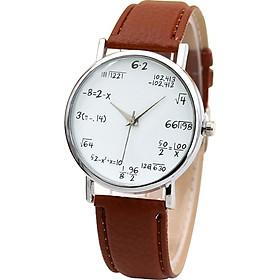 Bracelet Watches Fashion Watch Quartz Quartz Mathematics Formula