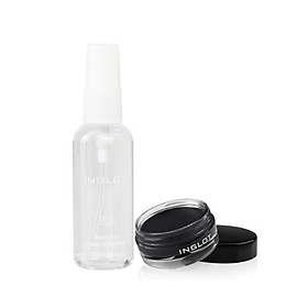 COMBO gel kẻ mắt và xịt khoáng bền nền Makeup Fixer