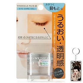 Gel chống nhăn vùng mắt Naris Wrinkle Plus Alpha Eye Care Gel Nhật Bản 20g + Móc khóa