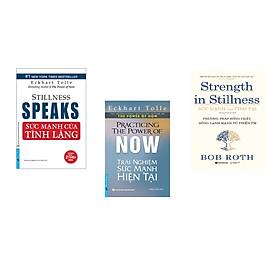Combo 3 cuốn sách: Sức Mạnh Của Sự Tĩnh Lặng + Trải Nghiệm Sức Mạnh Hiện Tại + Sức mạnh của tĩnh tại