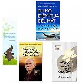 Combo 3 cuốn: Khi Mọi Điểm Tựa Đều Mất, Không Diệt Không Sinh Đừng Sợ Hãi, Từng Bước Nở Hoa Sen (Tặng kèm bookmark danh ngôn hình voi)