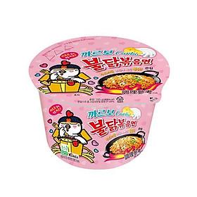 Mì bát Teppanyaki Hàn Quốc hương vị gà cay (gấp đôi sốt bơ trắng) - 560g