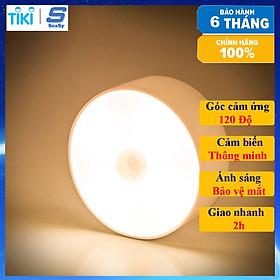 Đèn LED cảm biến chuyển động SEASY SS02, cảm biến thông minh, ánh sáng bảo vệ mắt, sạc pin USB đời mới, dán tường, tủ quần áo, cầu thang, phòng ngủ - Hàng chính hãng