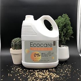 Nước rửa chén hữu cơ Bồ hòn hương Cam 4000ml thương hiệu Ecocare