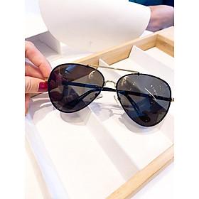 Kính mát thời trang cao cấp dành cho cả nam - Mắt kính đi nắng kiểu dáng độc đáo, cá tính POR8515