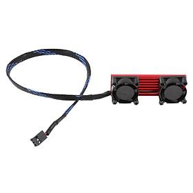 M.2 NVMe Tản Nhiệt, Ổ Cứng SSD Làm Mát Quạt-25 Mm, nhiệt Miếng Lót Làm Mát Vây 3 Pin Nguồn Điện