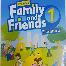 Flashcard cho giáo trình FAMILY AND FRIENDS 1 (2nd) -ép plastics