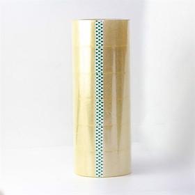 [Lốc 6 Cuộn] Băng Keo trong , Băng Dính Dán Thùng Titapha (6 x 100 Yards)