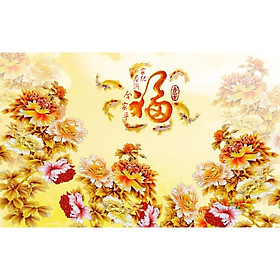 Tranh Treo Hoa Mẫu Đơn - MD060