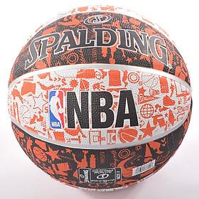Bóng rổ Spalding NBA Graffiti Outdoor (Chơi ngoài trời)- Tặng Kim bơm bóng và túi lưới đựng bóng