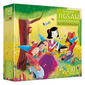 Usborne Book & Jigsaw Snow White and the Seven Dwarfs (Christmas books)