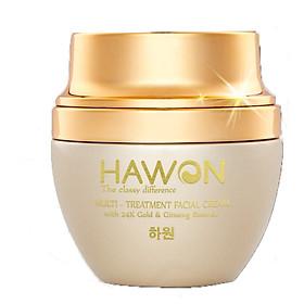 Combo 2 Kem Face Đa Năng Tinh Chất Vàng - Nhân Sâm 50g Hawon Gold