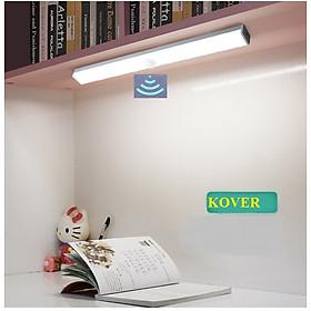 Đèn ngủ cảm ứng, đèn cảm biến KOVER gắn giường, cầu thang, toilet, tủ đồ, tự động bật/tắt ánh sáng ban đêm, sạc bằng USB tiện dụng