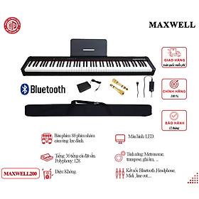 Đàn Piano Điện Maxwell Max 200 - Màu đen - Hàng chính hãng