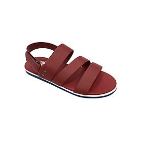 Giày Sandal 3 Quai Ngang Nam Everest - Eve01 D38 (Đỏ)