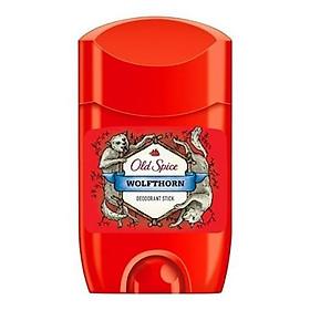Lăn Khử Mùi Nam Old Spice Wolfthorn Deodorant Stick 50ml - Hàng Chính Hãng