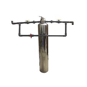 Lọc tổng đầu nguồn cho nước máy 1 cột van cơ