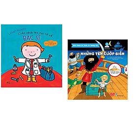 Combo 2 cuốn Cuốn sách lớn rực rỡ về bác sĩ + Bách khoa tri thức đa tương tác - Những tên cướp biển