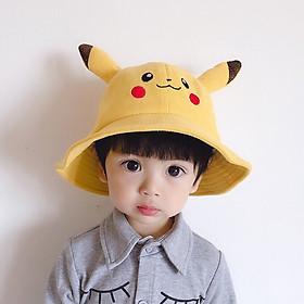 Mũ tai bèo pikachu thời trang cho bé trai/bé gái