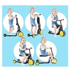 ️Tặng Hút Ráy Tai Tự Động️ Xe Trượt Scooter Kiêm Xe Chòi Chân, Xe Thăng Bằng – Xe Đạp Trẻ Em 2, 3 Bánh ️Xe Tập Đi Cho Bé.