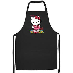 Tạp Dề Làm Bếp In họa tiết Kitty