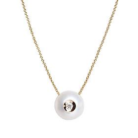Dây Chuyền Galatea Jewelry Diamond In A Pearl 904.04YW - Trắng
