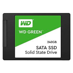 Ổ Cứng SSD 240GB Western Green WDS240G2GOA Sata III 6Gb/s - Hàng Chính Hãng