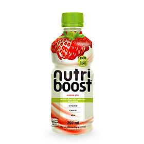 Nước trái cây Nutri vị dâu sữa 297ml - 10796