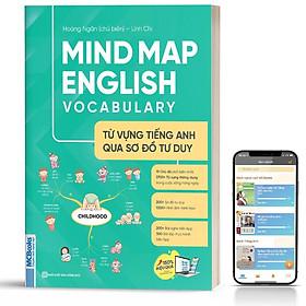 Sách - Mindmap English Vocabulary -Từ Vựng Tiếng Anh Qua Sơ Đồ Tư Duy