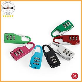 Khóa số mini, khóa balo, khóa túi xách, khóa hành lý, khóa vali giá rẻ