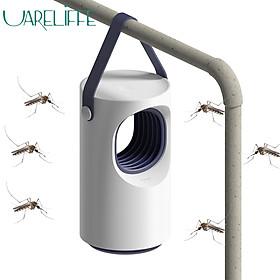 Uareliffe Mosquito Killer Light Portable USB Mosquito Killer Lamp Safe Energy Power Efficient Photocatalytic Violet Light Mosquito Fan Mute Mosquito Killer Household Killing Pest Repellent