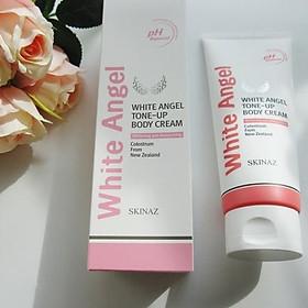 Kem White Angel Tone - Up Body Cream Skinaz cao cấp - kem dưỡng trắng da toàn thân cao cấp