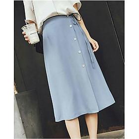 Chân váy Anni phối nút thời trang