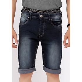 Quần Short Jeans Nam Wash Sáng 099 A91 JEANS MSRBS099DK - Xanh Đậm