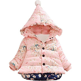 Snow Wear new baby girl winter coat Children Outerwear, baby girls Cartoon Winter Coat, baby jackets, girl's clothing