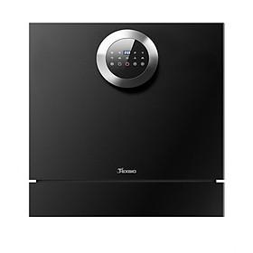 Máy rửa bát Texgio TG-BI205 - 8 bộ bát đĩa Châu Âu - Điều khiển cảm ứng - Độc lập có thể lắp âm với màu đen bóng sang trọng- Công nghệ tiêu chuẩn Châu Âu - Hàng chính hãng