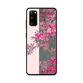 Ốp Lưng Dành Cho Samsung Galaxy S20 mẫu Hoa Đào Nở Rộ - Hàng Chính Hãng