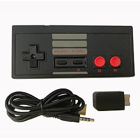 Wireless Play Gaming Controller for NES mini Classic Edition With Wrireless Receiver Gamepad and USB Receiver