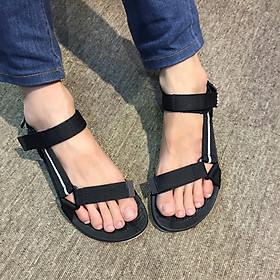 Giày sandals học sinh nam quai dù mềm êm chân siêu bền, không ngại mưa nắng, rửa nước thoải mái DA611-ĐXN