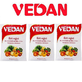 Combo 3 gói bột ngọt Vedan 400g