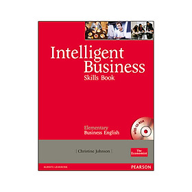 Intelligent Business Elementary Skills Book With CD