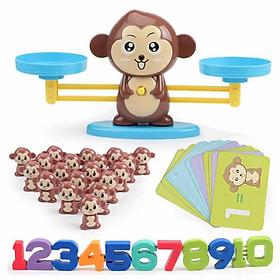 Bộ cân toán học Monkey Balance