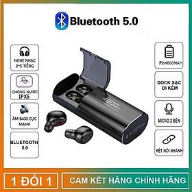 Tai nghe Bluetooth Không Dây Nhét Tai Kiêm Sạc Dự Phòng Amoi S11 TWS Nâng Cấp Hơn i7, i9, i12, F9, F9 Pro