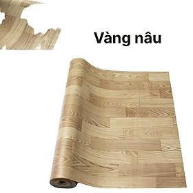 Thảm Simili Trải Sàn Nhà [Nhiều Màu] - Thảm Trải Phòng Lót Nền Giả Vân Gỗ PVC Nhám - Khổ 1m